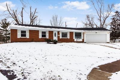Westerville OH Single Family Home Contingent Finance And Inspect: $226,900
