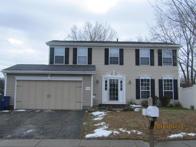 Hilliard Single Family Home Contingent Finance And Inspect: 5945 Galleon Court
