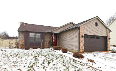 Reynoldsburg Single Family Home Contingent Finance And Inspect: 1604 Burkey Court
