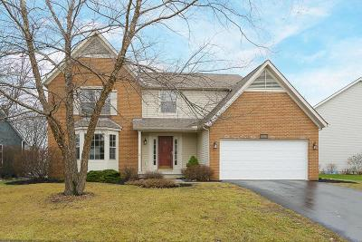 Canal Winchester Single Family Home Contingent Finance And Inspect: 6194 Mistover Lane
