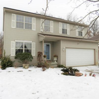 Blacklick Single Family Home Contingent Finance And Inspect: 7921 Hickson Drive