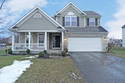 Reynoldsburg Single Family Home Contingent Finance And Inspect: 8655 Robbins Loop Drive