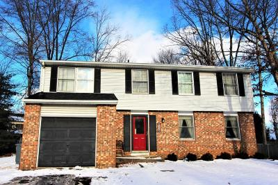 Westerville OH Single Family Home For Sale: $165,000