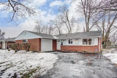 Westerville Single Family Home Contingent Finance And Inspect: 5548 Copenhagen Drive