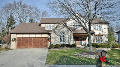 Westerville Single Family Home Contingent Finance And Inspect: 744 Waterton Drive