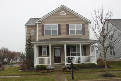 Westerville OH Single Family Home Contingent Finance And Inspect: $249,700