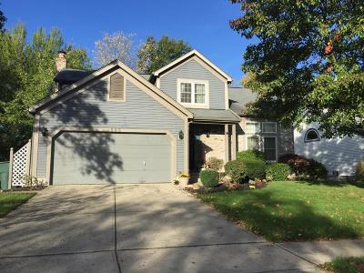 Westerville OH Single Family Home Contingent Finance And Inspect: $274,000
