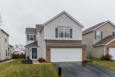 Hilliard Single Family Home Contingent Finance And Inspect: 5746 Stonepath Drive