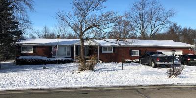 Washington Court House OH Single Family Home For Sale: $131,900