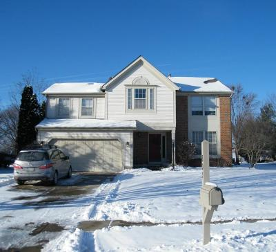 Pickerington Single Family Home Contingent Finance And Inspect: 805 McLeod Parc