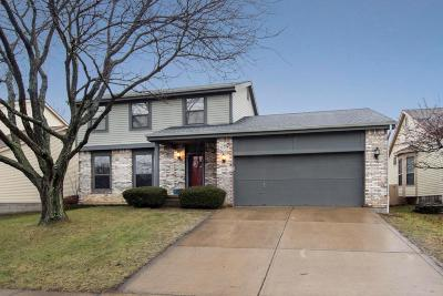 Pickerington Single Family Home Contingent Finance And Inspect: 3280 Bellerive Drive