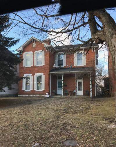 Chillicothe OH Multi Family Home For Sale: $59,900