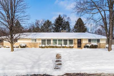 Upper Arlington Single Family Home Contingent Finance And Inspect: 2800 Nottingham Road