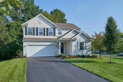 New Albany Single Family Home Contingent Finance And Inspect: 6514 Hilltop Trail Drive