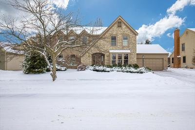 Hilliard Single Family Home For Sale: 4611 Coolbrook Drive
