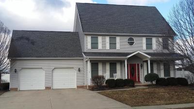 Washington Court House Single Family Home For Sale: 1200 Storybrook Drive