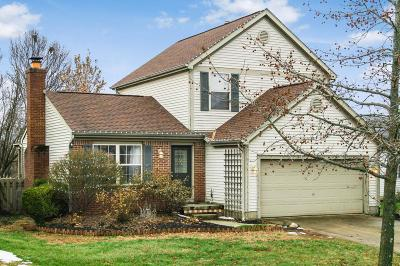 Pickerington Single Family Home Contingent Finance And Inspect: 7489 Crooked Stick Drive