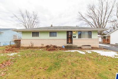 Columbus Single Family Home For Sale: 4581 Belfast Drive