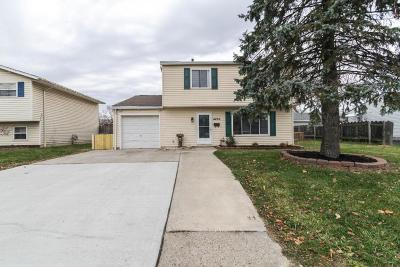 Hilliard Single Family Home Contingent Finance And Inspect: 4496 Paxton Drive S