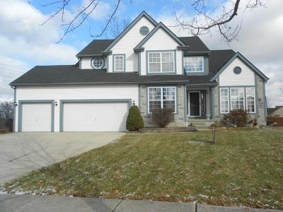 Reynoldsburg Single Family Home Contingent Finance And Inspect: 8294 Bellow Park Drive