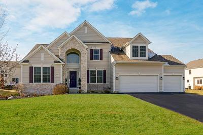 Hilliard Single Family Home Contingent Finance And Inspect: 4639 Nadine Park Drive