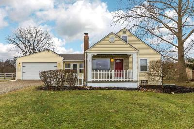 New Albany Single Family Home Contingent Finance And Inspect: 7473 Morse Road