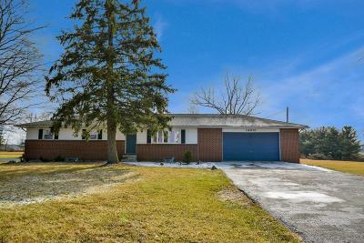 Johnstown Single Family Home Contingent Finance And Inspect: 14315 Johnstown Utica Road