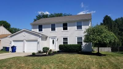Columbus Single Family Home Contingent Finance And Inspect: 3794 Ravens Glen Drive