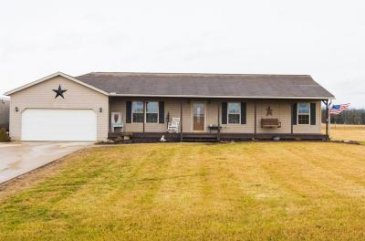 Mount Vernon Single Family Home For Sale: 13875 Lohr Road