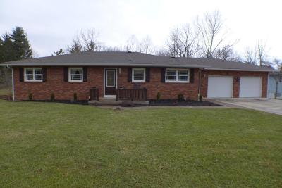 Lancaster Single Family Home Contingent Finance And Inspect: 1170 Rainbow Drive NE