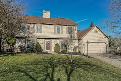 Hilliard Single Family Home Contingent Finance And Inspect: 4163 Checkerberry Court