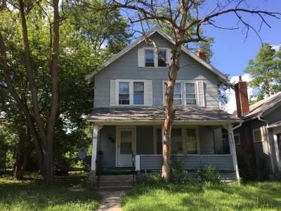 Columbus Single Family Home For Sale: 1410 Genessee Avenue