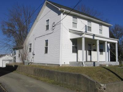 Circleville OH Single Family Home For Sale: $125,000