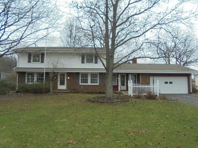 Mount Vernon OH Single Family Home For Sale: $217,900
