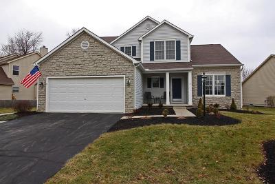 Pickerington Single Family Home Contingent Finance And Inspect: 954 Gray Drive