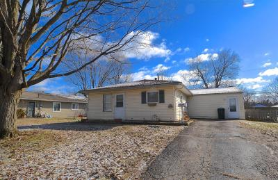 Reynoldsburg Single Family Home Contingent Finance And Inspect: 7385 Roshon Avenue