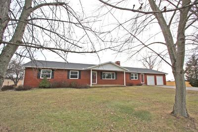 Mount Vernon OH Single Family Home Contingent Finance And Inspect: $179,900