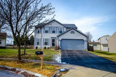 Hilliard Single Family Home Contingent Finance And Inspect: 3267 Garrison Court