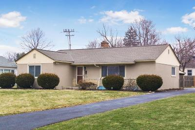 Upper Arlington Single Family Home Contingent Finance And Inspect: 3180 Ainwick Road