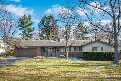 Upper Arlington Single Family Home Contingent Finance And Inspect: 4066 Windermere Road