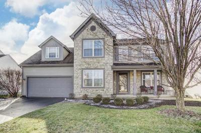Reynoldsburg Single Family Home Contingent Finance And Inspect: 8563 Robbins Loop Drive