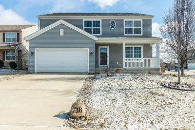 Blacklick Single Family Home Contingent Finance And Inspect: 716 Alexia Court