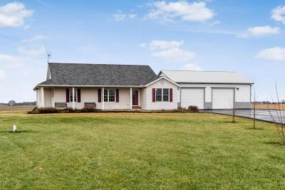 Washington Court House Single Family Home Contingent Finance And Inspect: 4091 Miami Trace Road SW