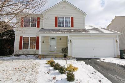 Hilliard Single Family Home Contingent Finance And Inspect: 2854 Pheasant Field Drive