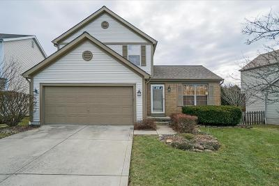Pickerington Single Family Home Contingent Finance And Inspect: 7529 Hazeltine Court