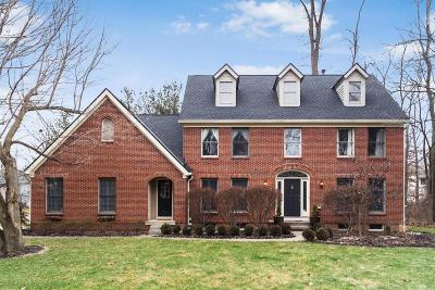 New Albany Single Family Home Contingent Finance And Inspect: 1310 Harrison Pond Drive