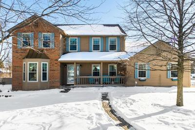 Reynoldsburg Single Family Home Contingent Finance And Inspect: 603 Culpepper Drive