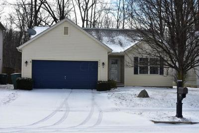Blacklick Single Family Home Contingent Finance And Inspect: 7909 Fairfax Loop Drive