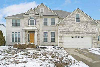 Reynoldsburg Single Family Home Contingent Finance And Inspect: 970 Mueller Drive