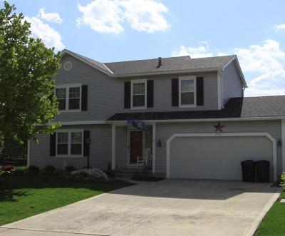 Hilliard Single Family Home Contingent Finance And Inspect: 4541 Hilliard Run Drive